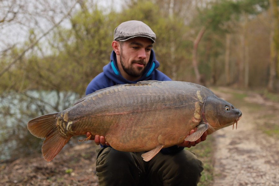 Jamie Wilson, 38lb 4oz, The Stink, 22.02.20