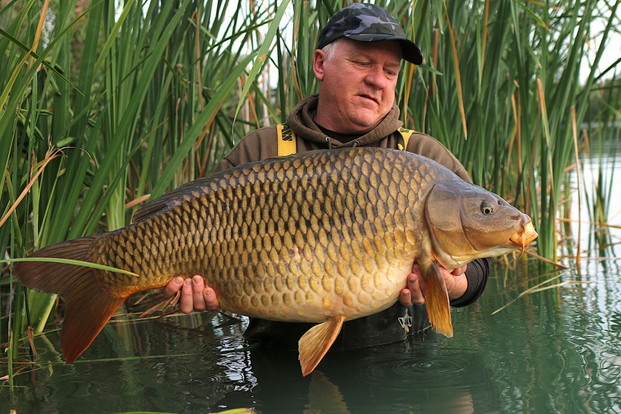 "Andy Kendall - 39lb 8oz - ""The Terminator"" - Stock Pond -  02/07/2020"