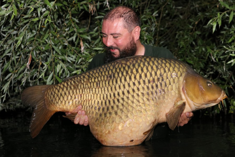 Andy Heys, 66lb, Co's Point. 18.07.2020