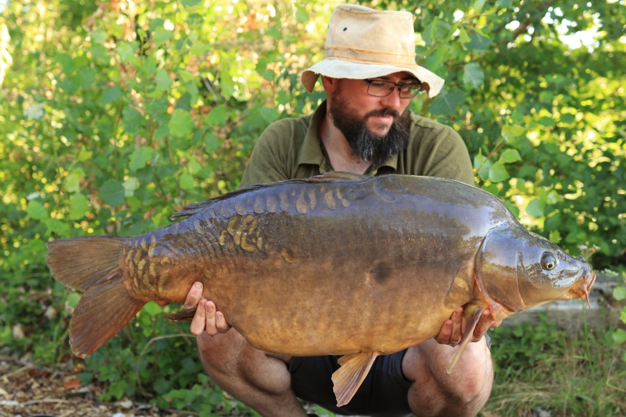 Andy Heys, 42lb, Co's Point. 18.07.2020