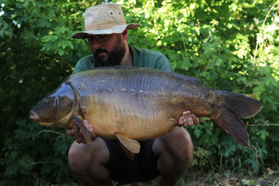Andy Heys, 39lb, Co's Point. 18.07.2020