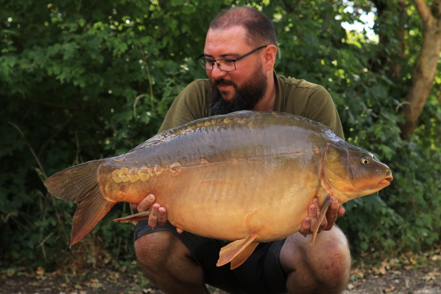 Andy Heys, 35lb, Co's Point. 18.07.2020