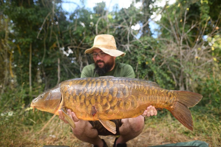 Andy Heys, 33lb, Co's Point. 18.07.2020