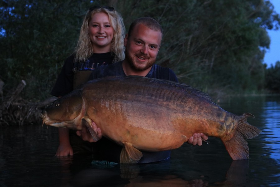 Shane Lune & Millie, 64lb, The Alamo. 18.07.2020