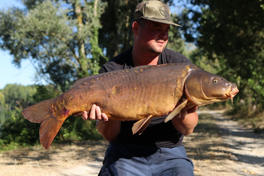 Matt Sheperd 34lb Big Girls 01.08.2020