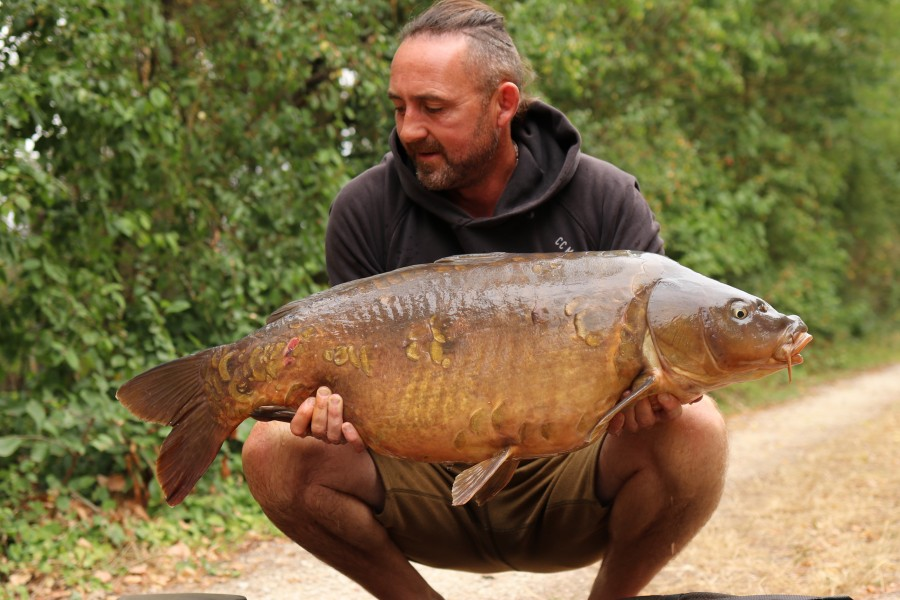 Chris Clark 38lb Bobs Beach 15.08.20