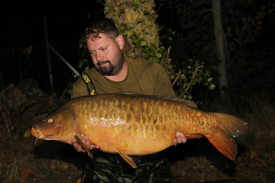 """Mad Max"" at 43lb 8oz, now those are som scales......well done Ryan Mullins....."
