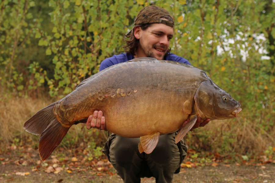 "Stock Pond was kind to Phil with ""Kling On"" at 42lb in weight.............."