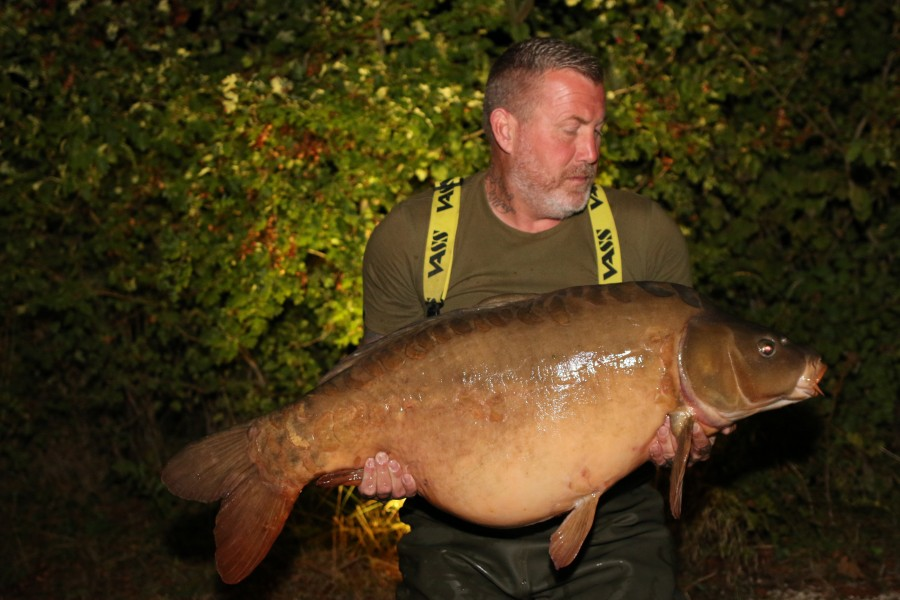 "49lb 12oz of ""2 C's"" Baxters doing the business for Dean Cullen........"