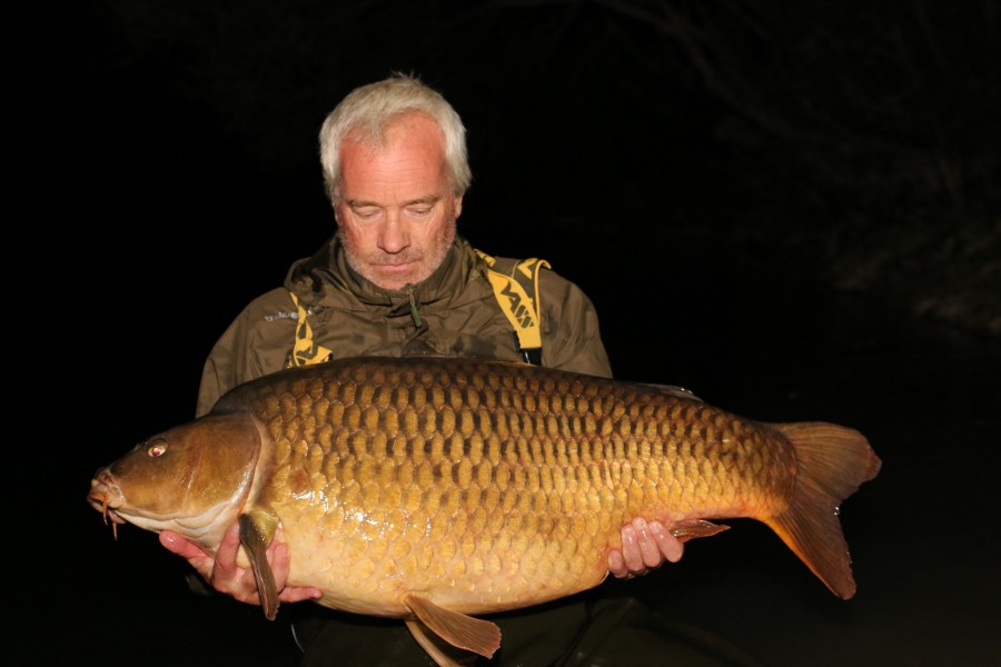 "The rarely caught ""Time Lapse"" from ""Bobs Beach""...........well done Richard, 55lb 4oz ........"
