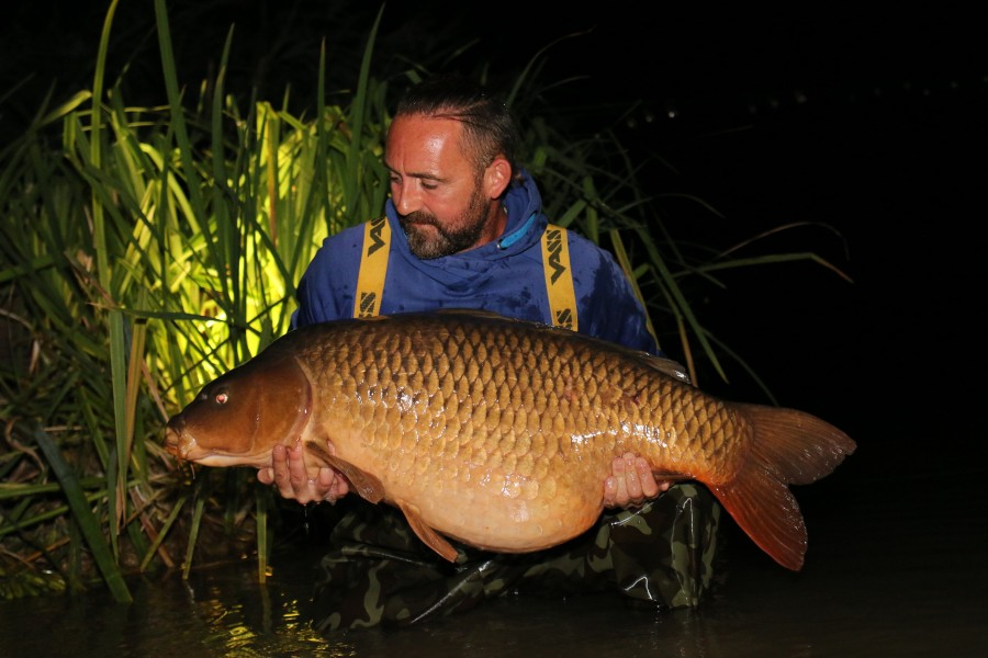 "This is such a lovely fish!!!........""Mammut"" at 53lb 4oz.........congrats Chris....."