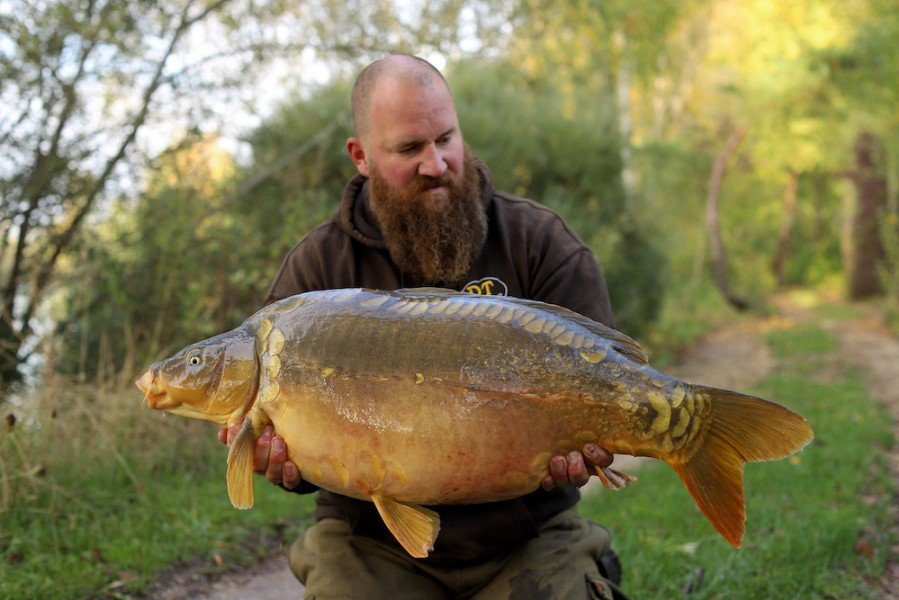 Anders Frenk, 38lb 8oz, Stink, 10.10.20