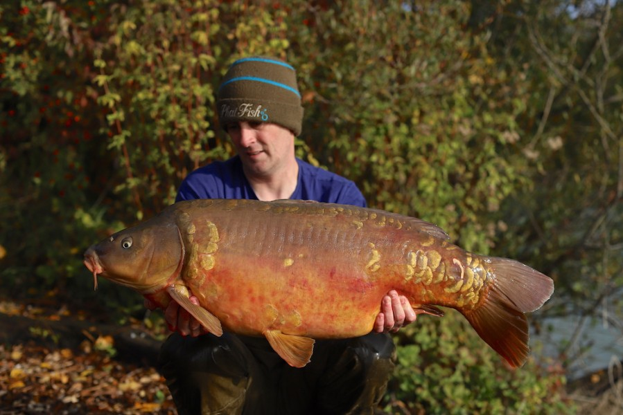 Paul Clements, 33lb 8oz, Co's Point, 10.10.20