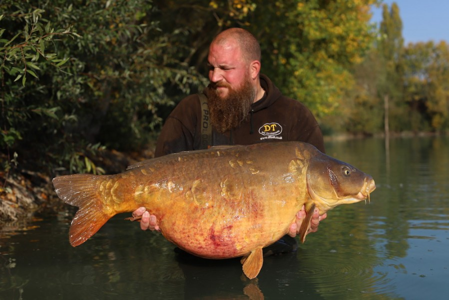 Anders Frenk, Beach, 54lb 12oz, 17.10.20