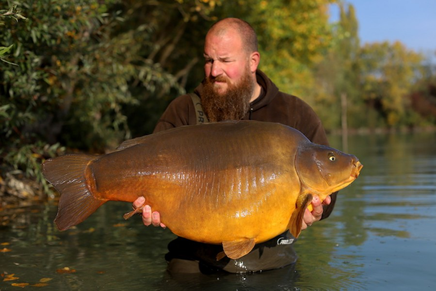 Anders Frenk, Beach, 49lb 8oz, 17.10.20