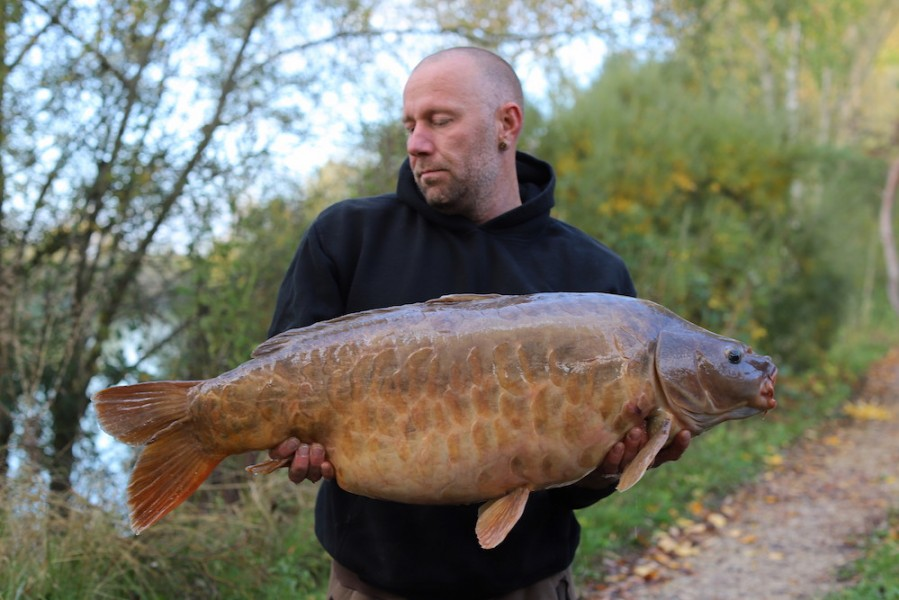 Simon Machholt, 34lb 8oz, Stink, 17.10.20