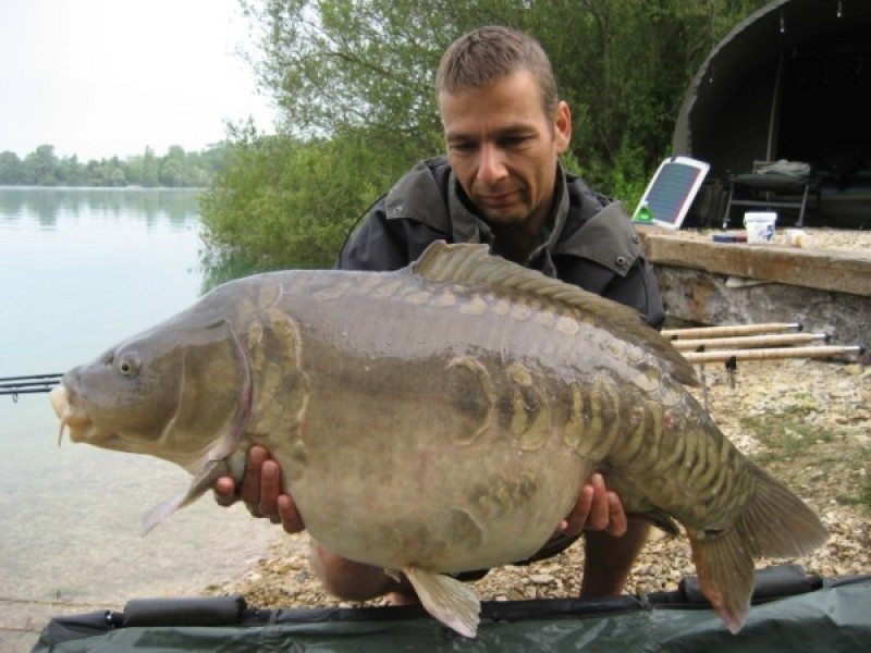 Ron & 'The turd' @ 42lb